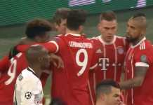 Hasil pertandingan Bayern Munich vs Besiktas: 5-0
