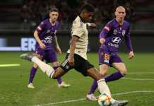 hasil pertandingan pra musi Manchester United, Perth Glory Vs Manchester United