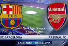 FC Barcelona Vs Arsenal - Trofi Joan Gamper