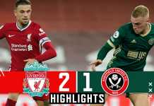 Highlights Liverpool Vs Sheffield United: 2-1